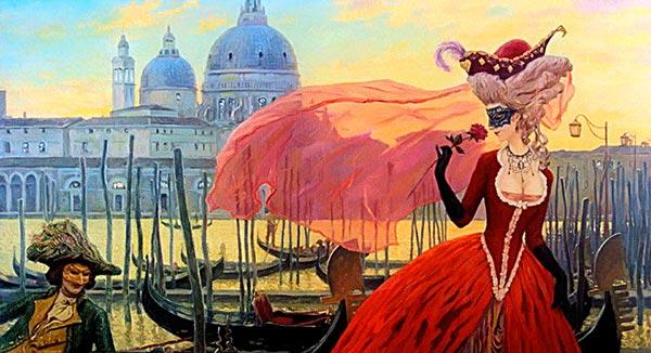 """Живой квест """"Загадки Венеции"""""""